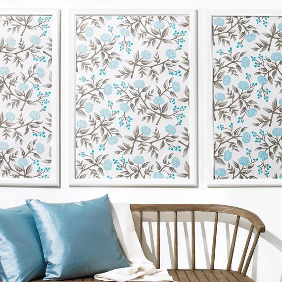 Framed wallpaper artwork