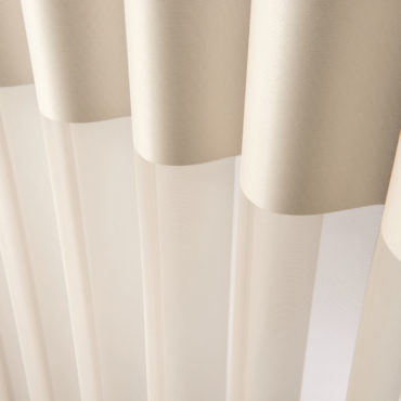 Close up of vanes of the Luminette Privacy Sheers
