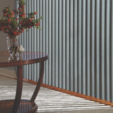 Hunter Douglas Cadence Soft Vertical Blinds close up