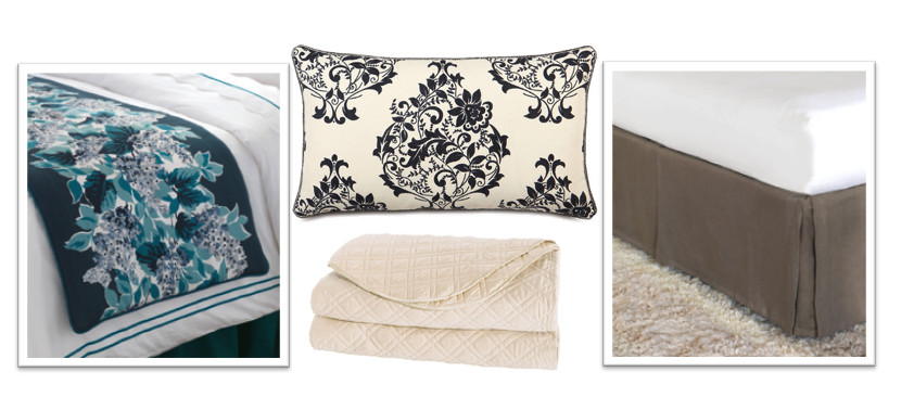 Bedspreads and Decorative Pillows