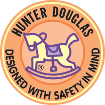 Hunter Douglas Designed with Child Safety in Mind logo