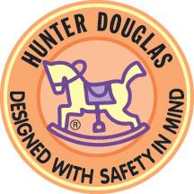 Hunter Douglas Designed with Child Safety in Mind logo