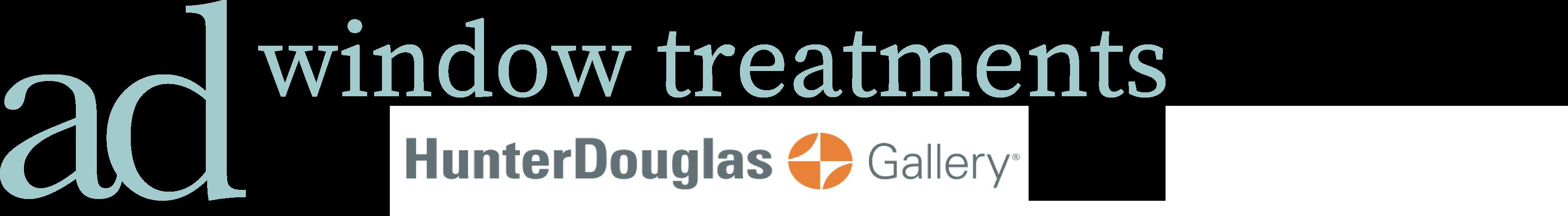 AD window treatments logo