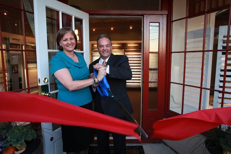 Dan and Laura Hawley open up Ambiance Design, a Hunter Douglas Showroom in Fort Washington.