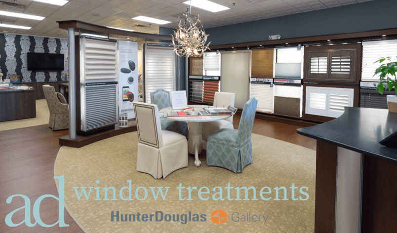 AD Window Treatments Hunter Douglas Showroom Gallery.