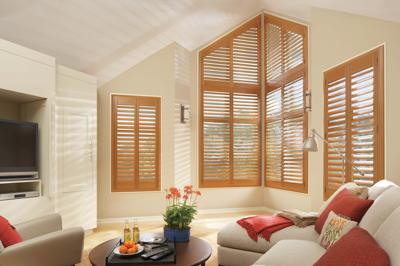 Hunter Douglas Custom Plantation Shuttters | AD Window Treatments